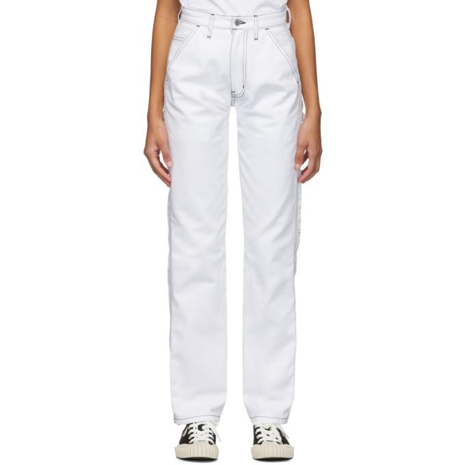 Noon Goons Pantalon blanc Throttle
