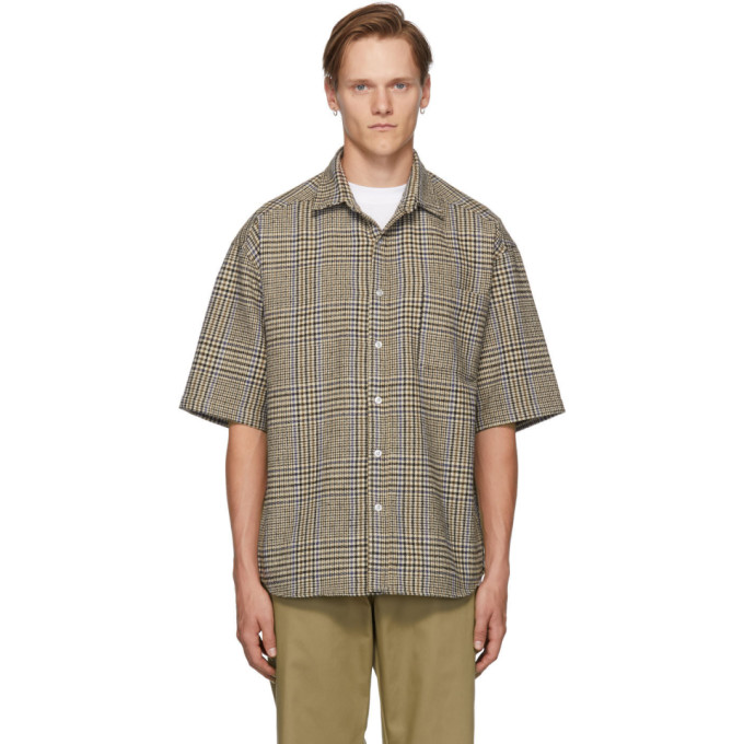 Noon Goons Chemise a manches courtes beige Curb
