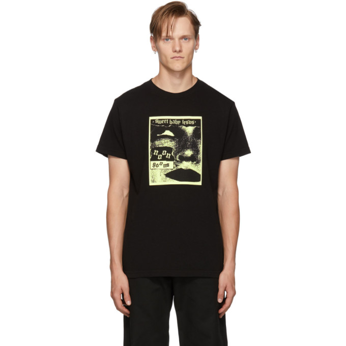 Noon Goons Black Sweet Baby Jesus T-Shirt