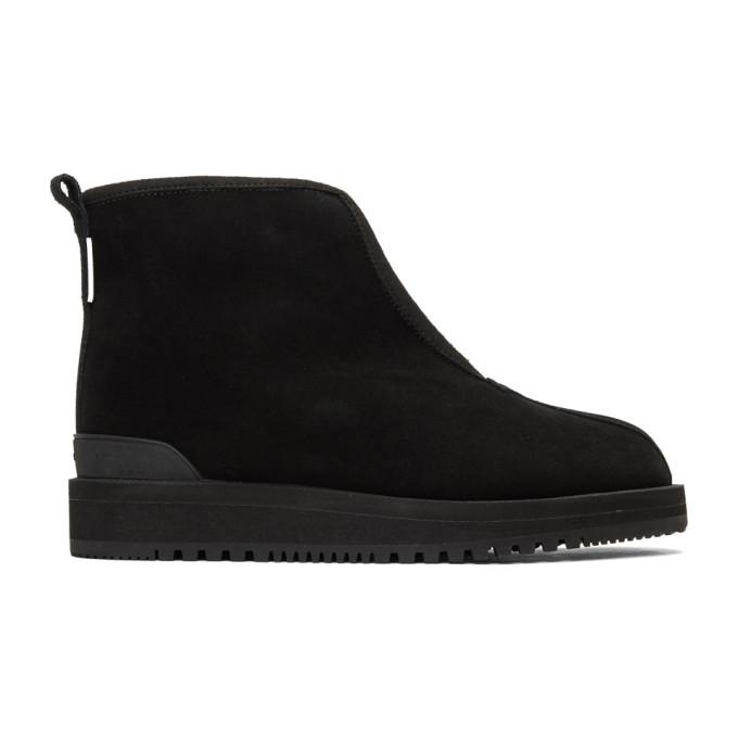 Suicoke Black Sherpa Kenn Boots