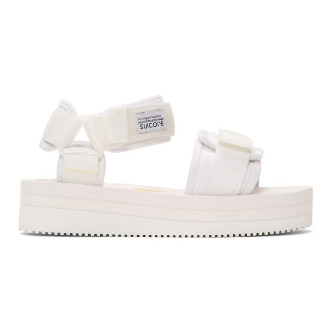 Suicoke Sandales blanches CEL-VPO