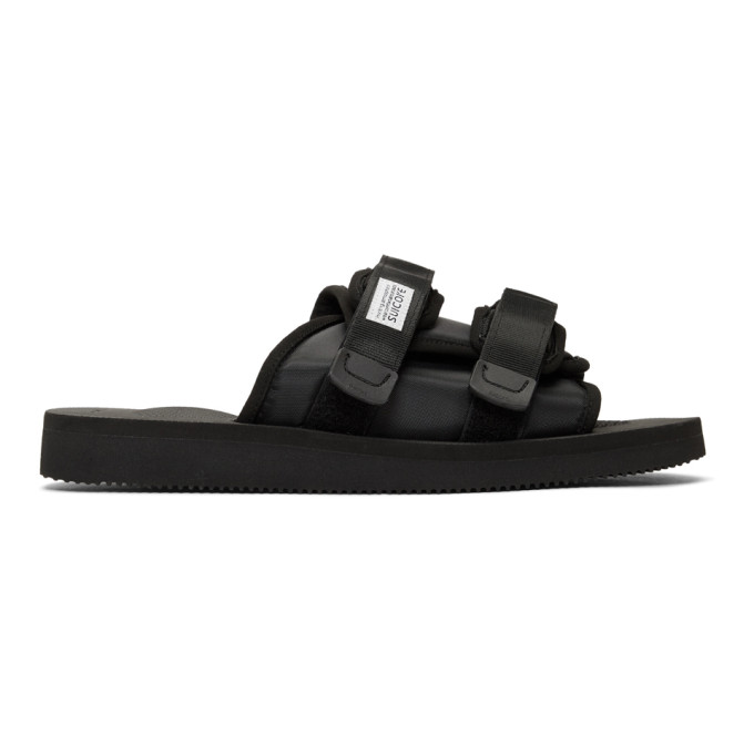 Suicoke Sandales noires Moto-Cab