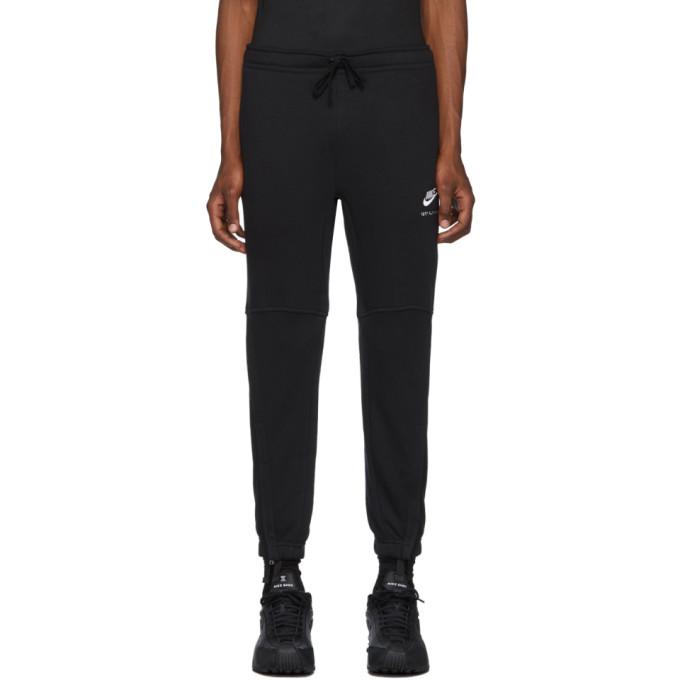 1017 Alyx 9SM Pantalon de survetement a logo noir edition Nike