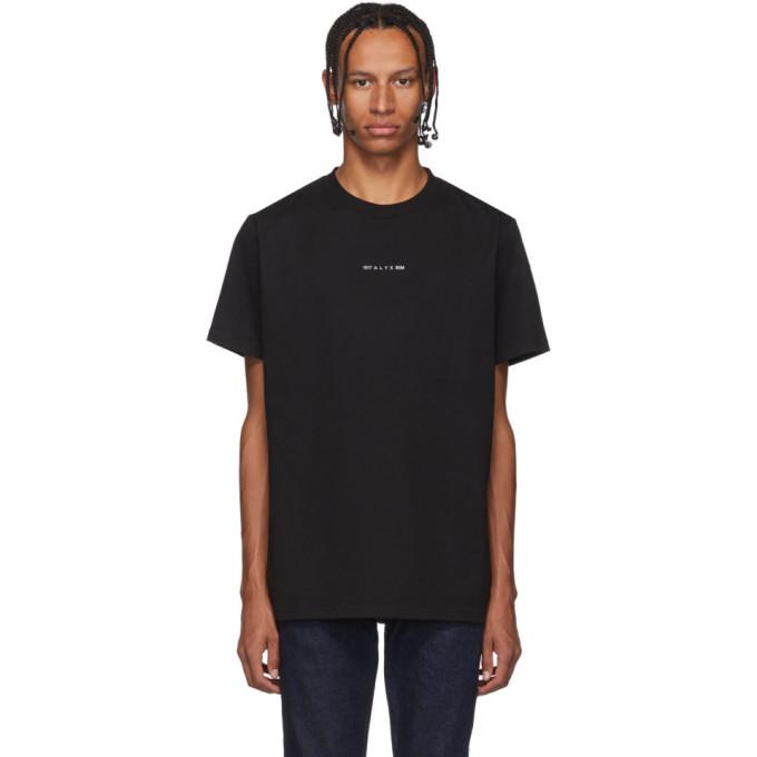 1017 Alyx 9SM T-shirt noir Visual
