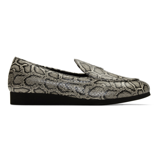 1017 ALYX 9SM Black and White St. Marks Loafers