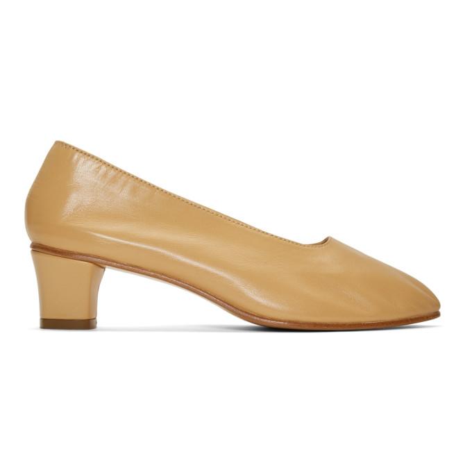Martiniano Tan High Glove Heels