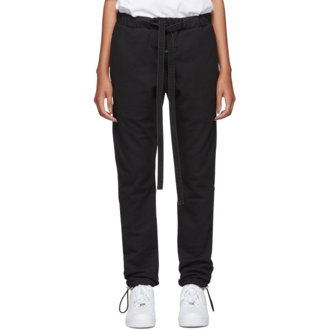 Fear of God Pantalon de survetement noir Core