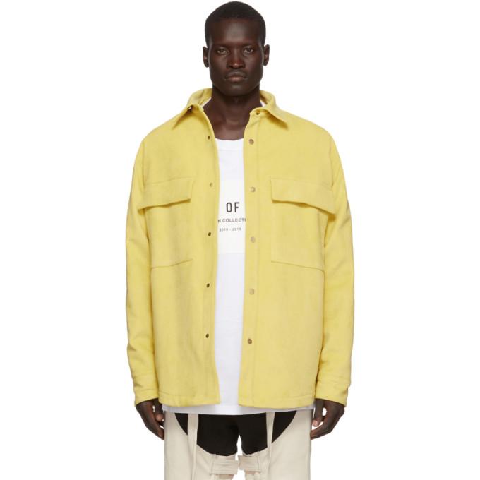 Fear of God Chemise jaune Ultrasuede