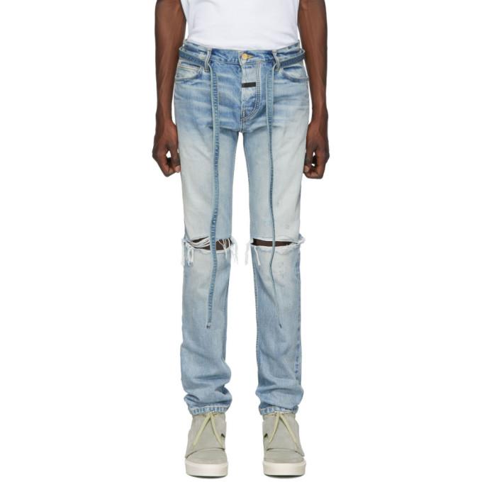 Fear of God Indigo Slim Jeans