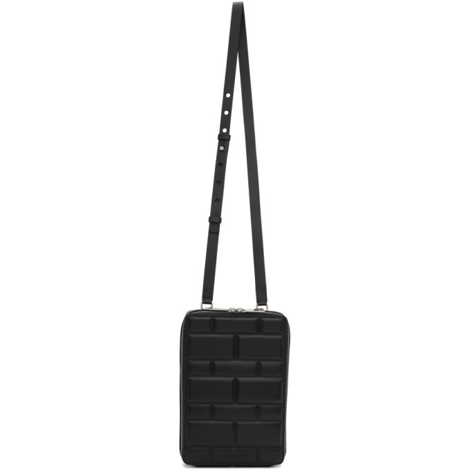 SSENSE Exclusive Black Imbottiture Mini Messenger Bag