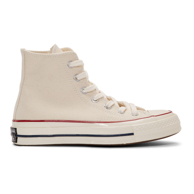 CONVERSE | Converse Off-White Chuck 70 High Sneakers | Goxip