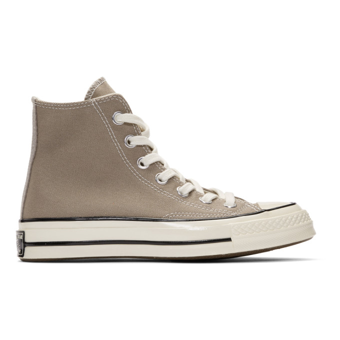 CONVERSE | Converse Grey Chuck 70 High Sneakers | Goxip
