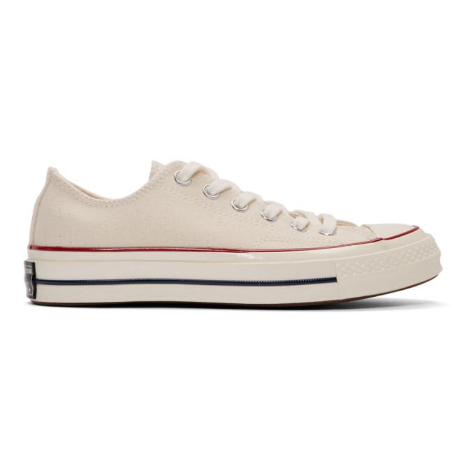 Converse オフホワイト Chuck 70 ロー スニーカー