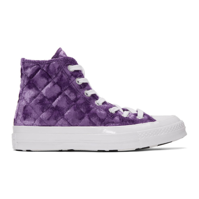 Converse X Golf Le Fleur* Chuck 70 High Top Sneaker In Pullpurplwh