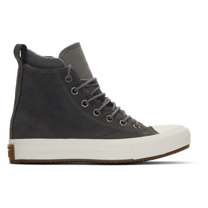 Converse Grey Chuck Taylor All Star Waterproof Boot Sneaker