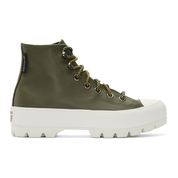 Converse Green CTAS Winter Lugged GORE-TEX Boot Sneakers