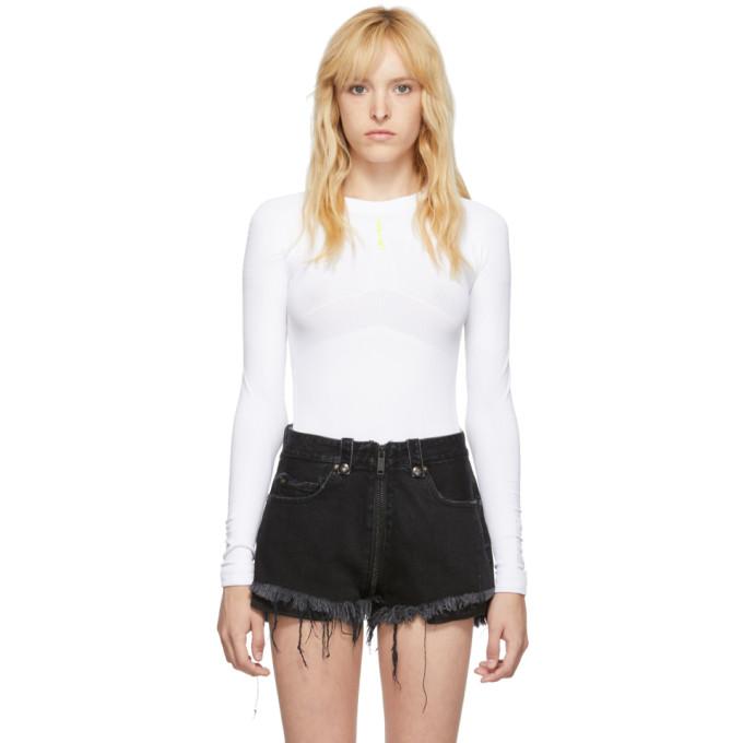Unravel Body sans coutures blanc Tech