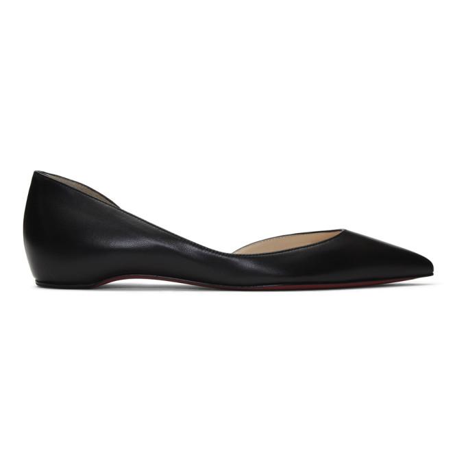 Buy Christian Louboutin Black Iriza Flat Ballerina Flats online