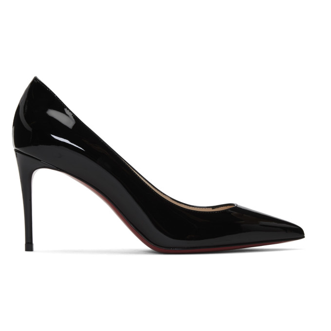 Christian Louboutin Black Patent Kate 85 Heels