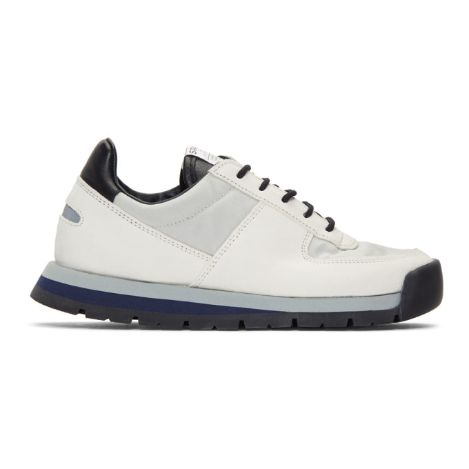 Spalwart White Blizzard Low Sneakers