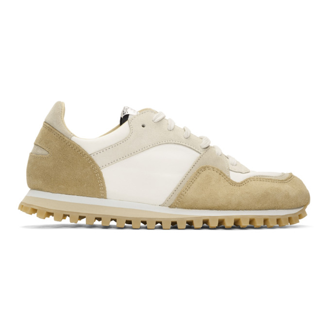 Spalwart Beige and Grey Marathon Trail Low WBHS Sneakers