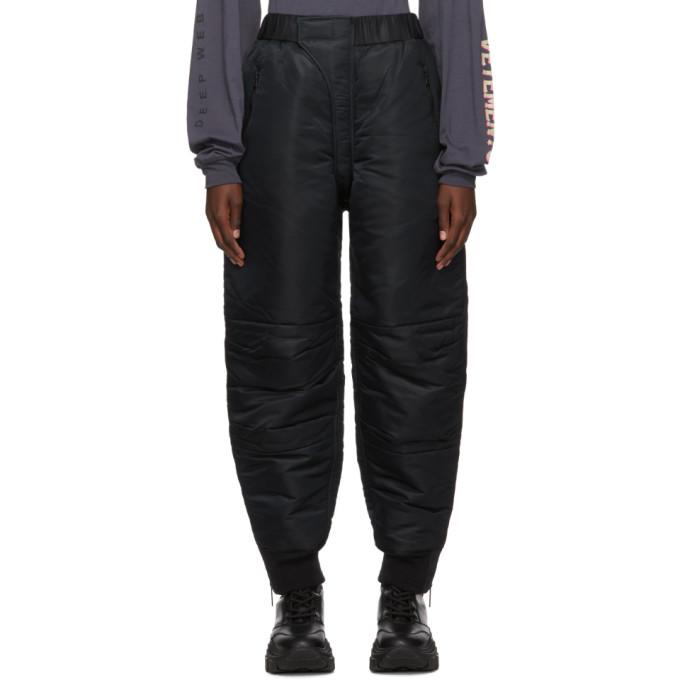 Ambush Pantalon de survetement noir MA-1