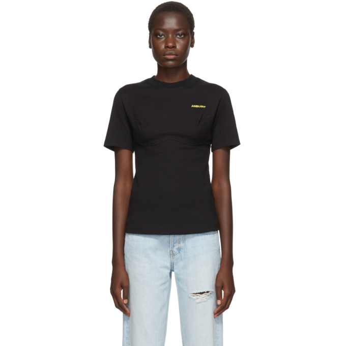 Ambush T-shirt a panneaux noir Cutsaw