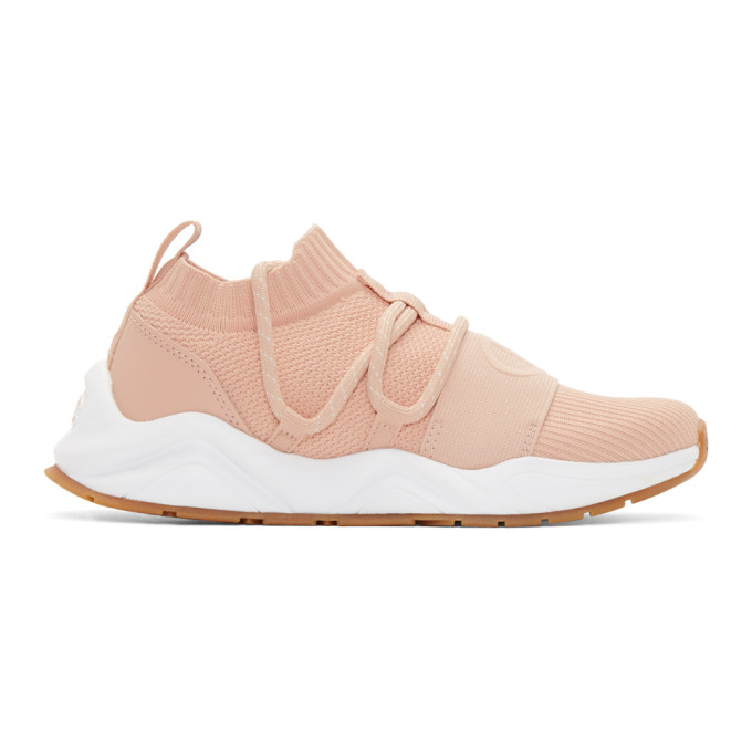 Champion Reverse Weave Pink Rally Hype Lo Sneakers