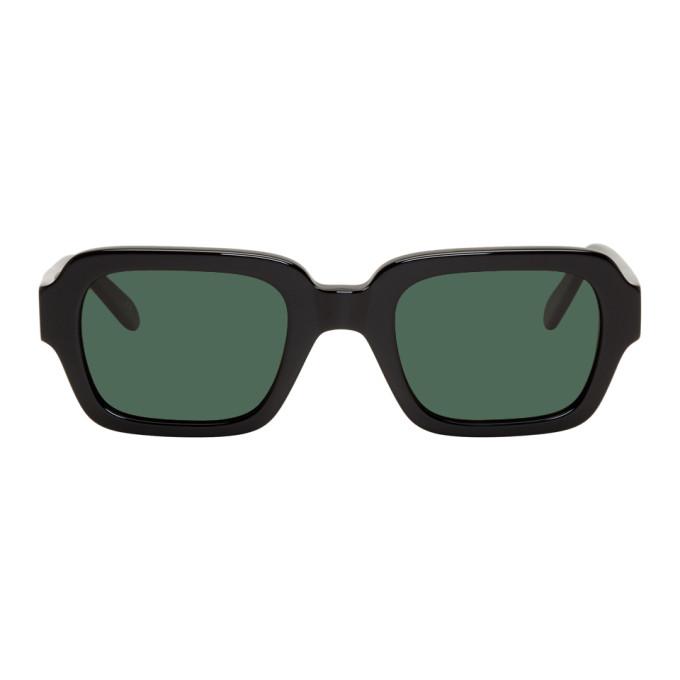 Han Kjobenhavn Black Code Sunglasses