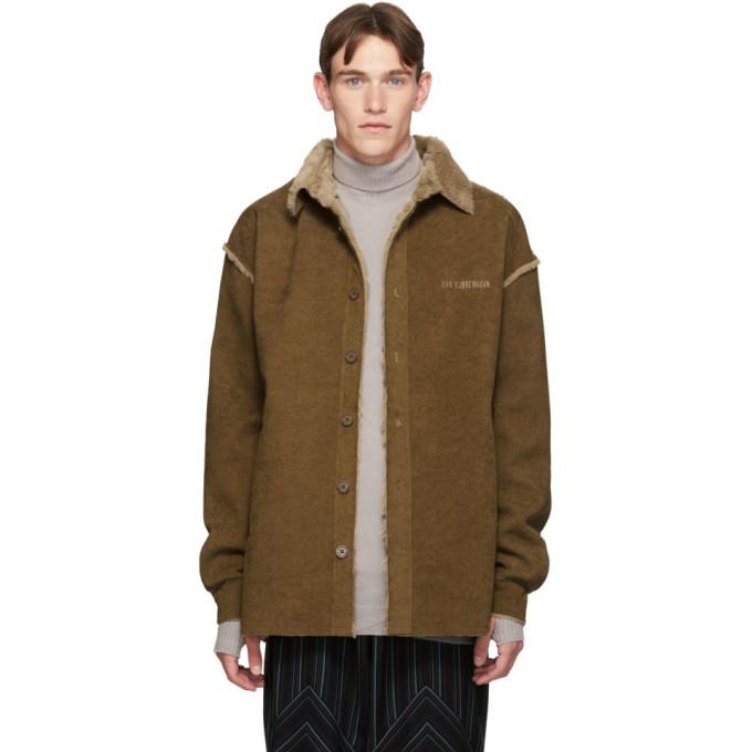 Han Kjobenhavn Blouson en velours cotele brun Shirt