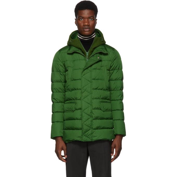 Herno Green Down Chamonix and Scuba Coat