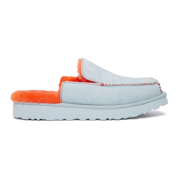 Eckhaus Latta Flaneurs a enfiler gris et orange Unisex Block edition UGG