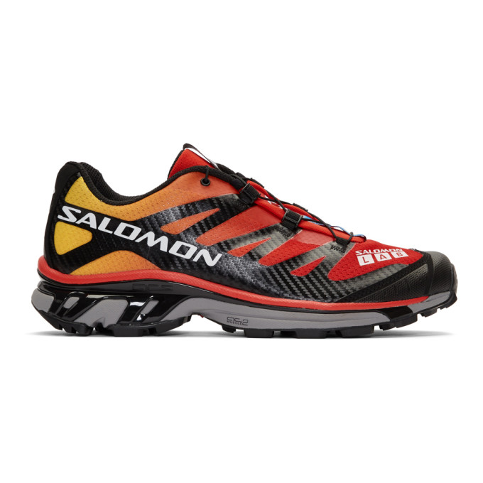 Salomon Red and Black Limited Edition S/Lab XT-4 ADV Sneakers