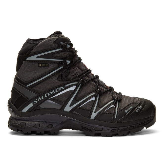 Salomon Black and Grey XT-Quest Hi GTX ADV Boots