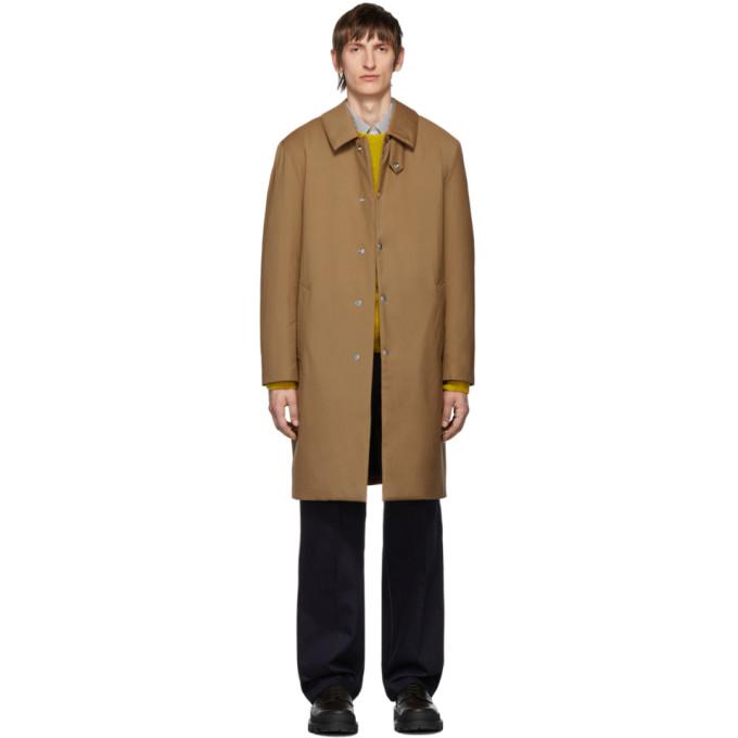 Mackintosh Manteau en duvet brun clair Dunkeld