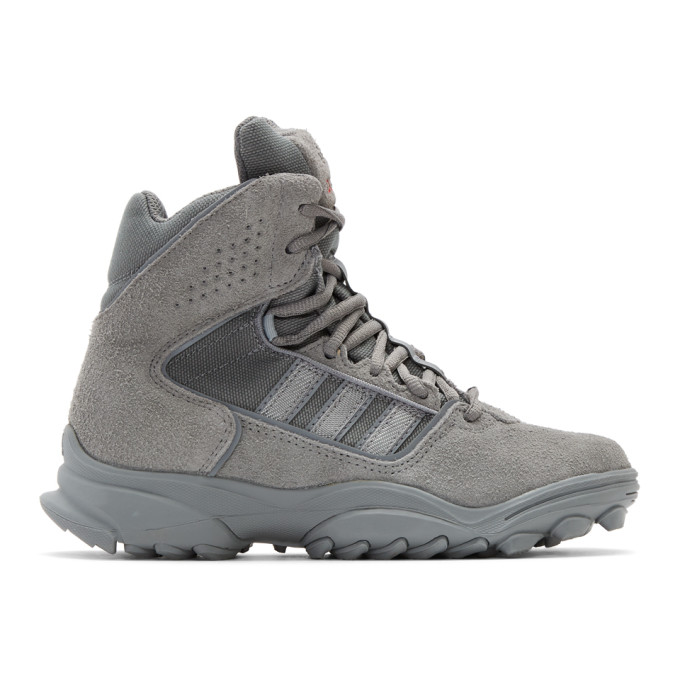 032c Grey adidas Edition GSG 9High Top Sneaker