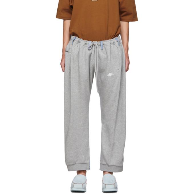 Bless Pantalon de survetement gris et bleu Overjogging Jean