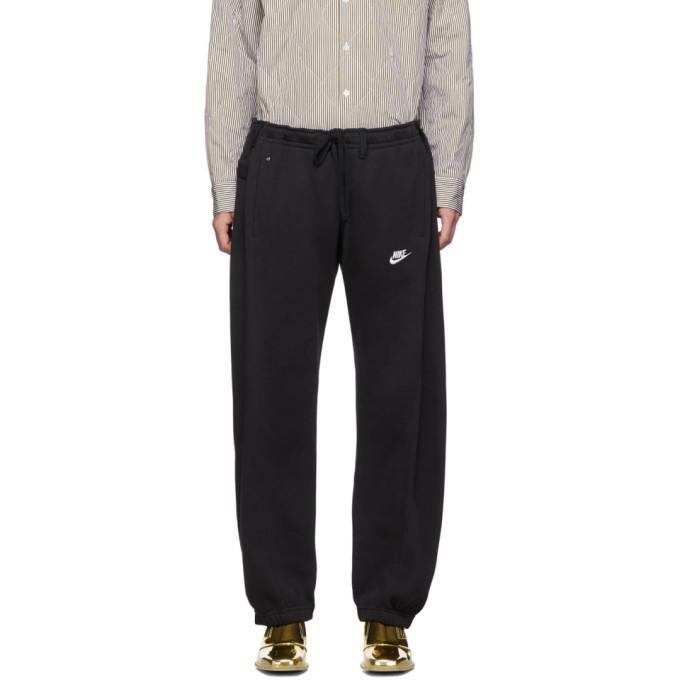 Bless Pantalon de survetement noir Overjogging Jean exclusif a SSENSE