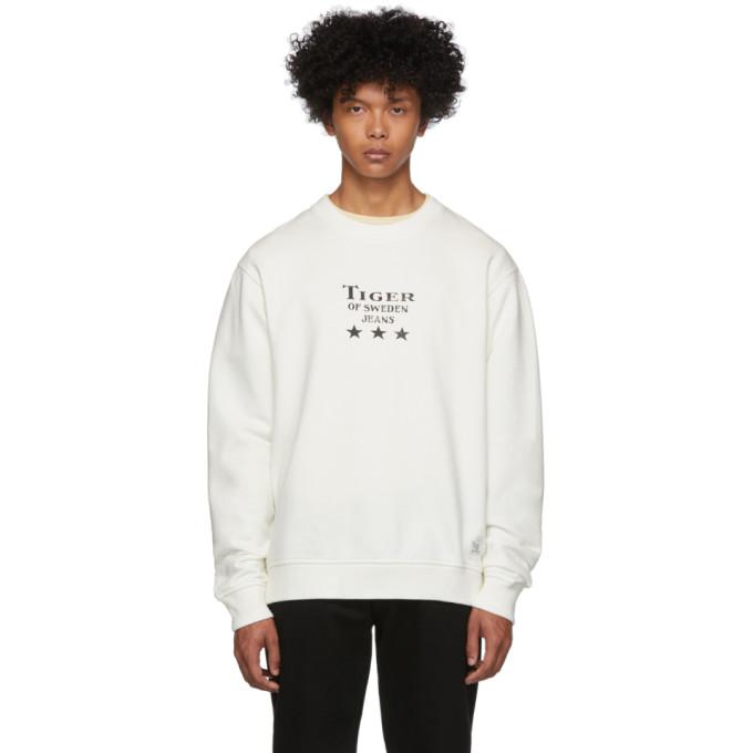 Tiger of Sweden Jeans Off-White Fleek Sweatshirt