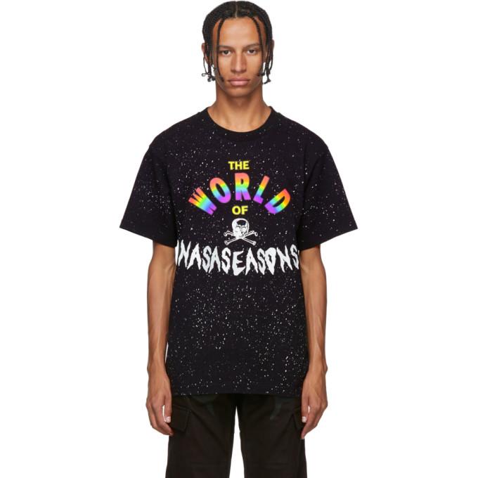 Nasaseasons Black World of Nasaseasons T-Shirt