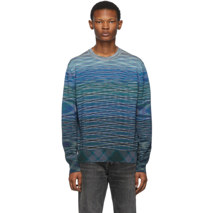 Missoni ブルー ウール セーター