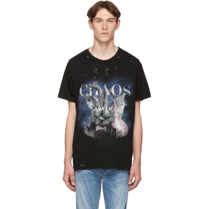 f69f4c39 Amiri Black City Dragon T-Shirt In Tar | ModeSens
