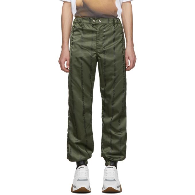 Enfants Riches Deprimes Pantalon de survetement a logo vert