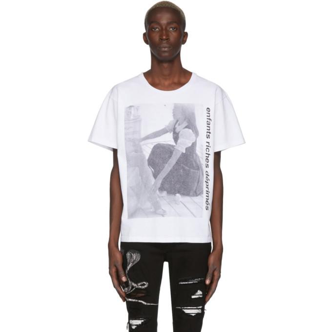 Enfants Riches Deprimes T-shirt blanc Girl Eats Girl