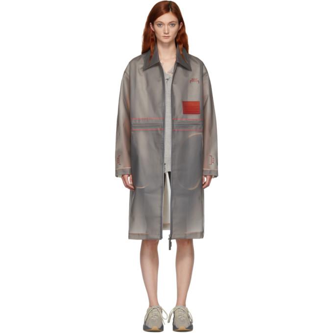 A-Cold-Wall* Manteau gris Mac