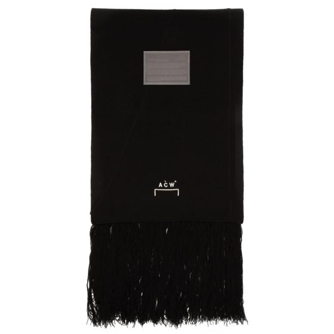 A-Cold-Wall* Foulard noir Tier