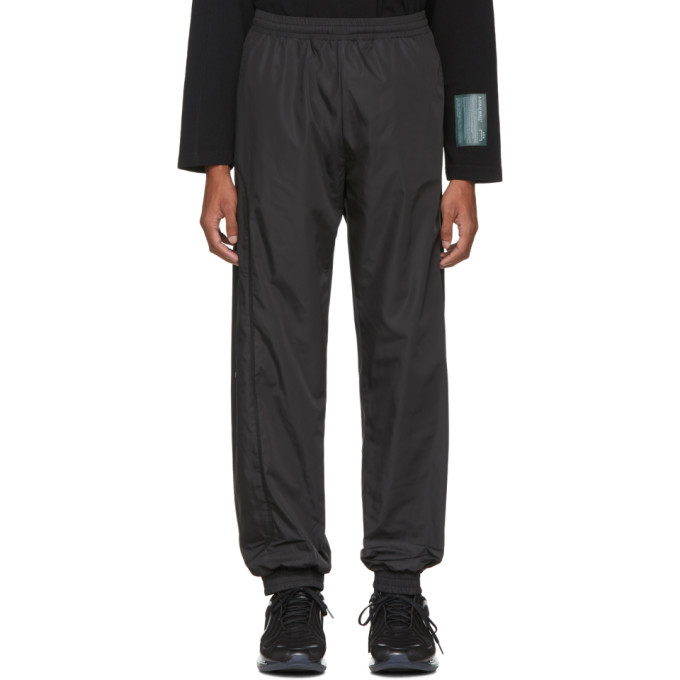 A-Cold-Wall* Pantalon de survetement noir Overlock