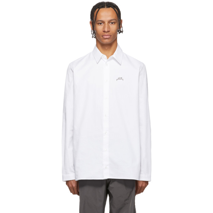 A-Cold-Wall* Chemise blanche Core Logo