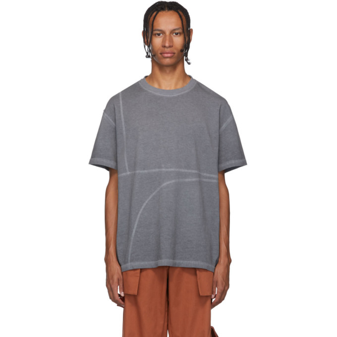A-Cold-Wall* T-shirt gris Flatlock
