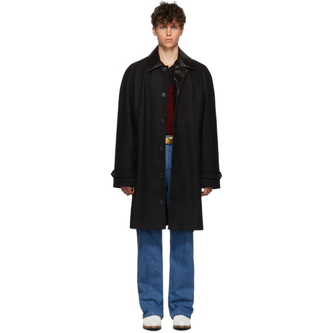 Y/Project Black Long Driving Coat